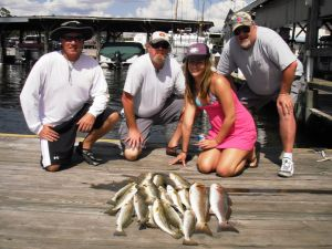 Crystal River Trout & Redfish...