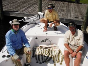 Homosassa Trout Limit and Reds...