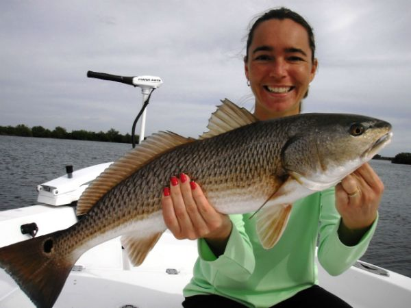 Mrs. Crystal River Redfish
