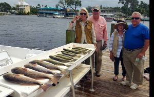 Homosassa Trout, Reds and more WIND.....