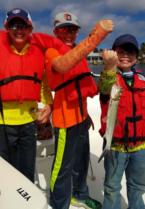 Homosassa Elementary Goes Fishing...