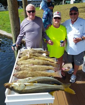 Crystal River Grouper & Snook....