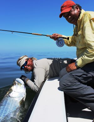 Tarpon on Fly.....