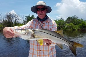 Snook in Between the Rain....